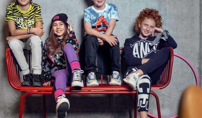 Ubrania streetwear dla dzieci
